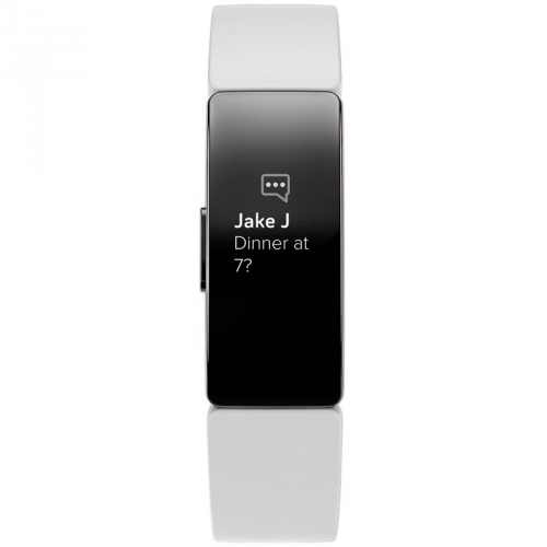 Fitness náramek Fitbit Inspire HR - White/Black FitBit