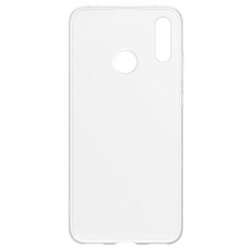 Kryt na mobil Huawei Y7 2019 průhledný