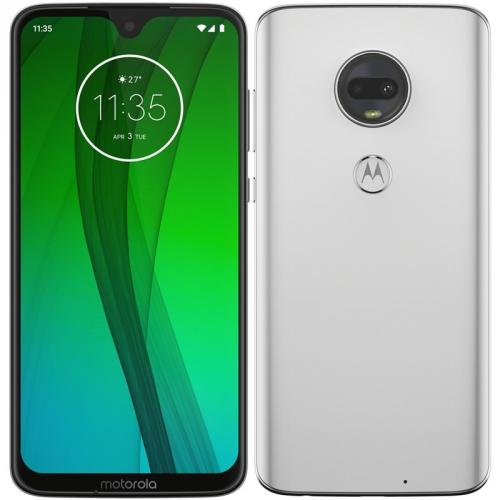 Mobilní telefon Motorola moto g7 bílý