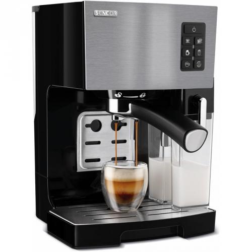 Espresso Sencor SES 4050SS stříbrné