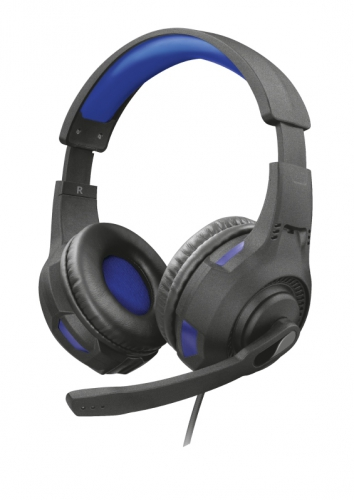 Headset Trust GXT 307B Ravu Gaming pro PC/PS4 modrý