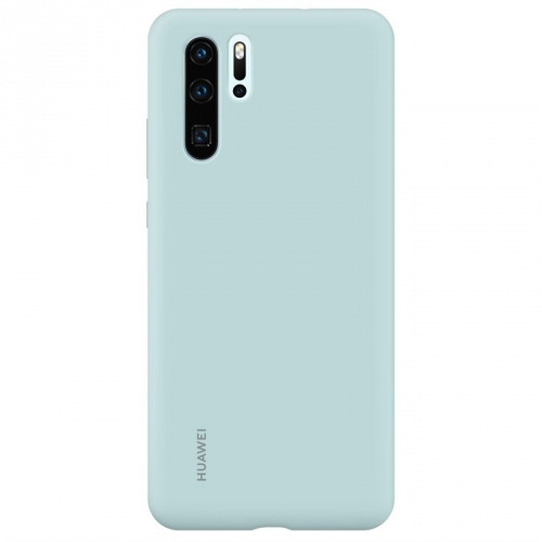Huawei Silicone Case pro P30 Pro - světle modrý
