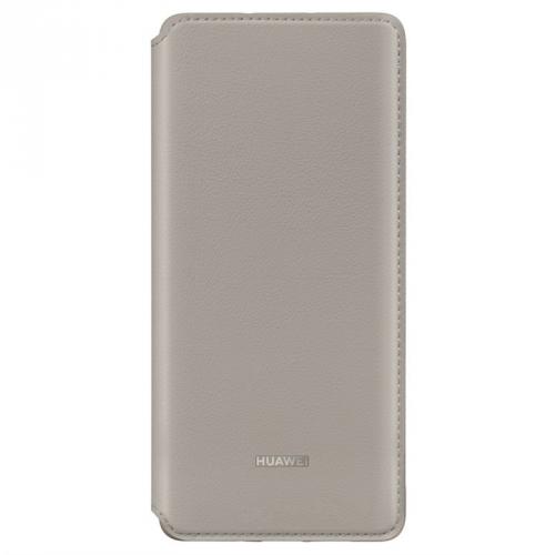 Pouzdro na mobil flipové Huawei Wallet Cover pro P30 Pro khaki