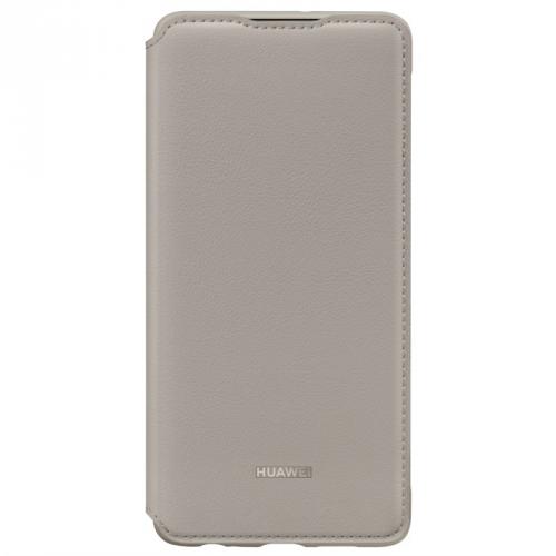 Pouzdro na mobil flipové Huawei Wallet Cover pro P30 khaki