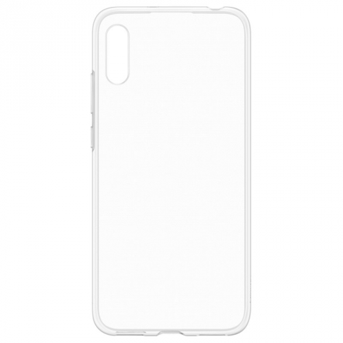 Kryt na mobil Huawei Silicon Protective Case pro Y6 2019 průhledný