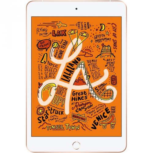 Dotykový tablet Apple iPad mini (2019) Wi-Fi + Cellular 64 GB - Gold