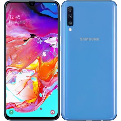 Mobilní telefon Samsung Galaxy A70 Dual SIM modrý