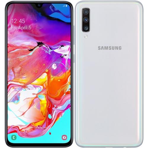 Mobilní telefon Samsung Galaxy A70 Dual SIM bílý