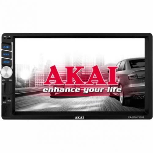 Autorádio s LCD AKAI CA-2DIN7135S černé