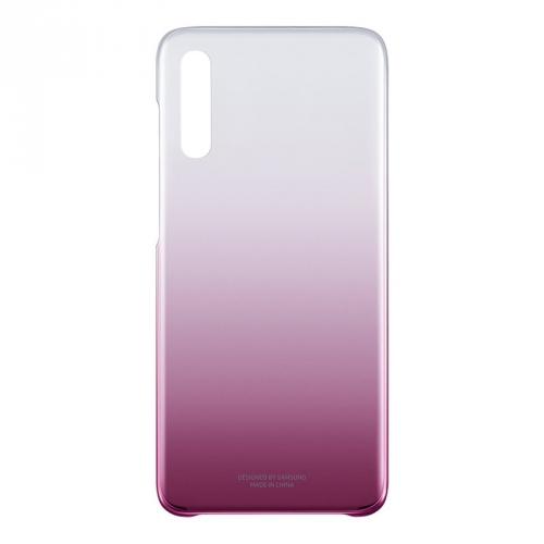 Kryt na mobil Samsung Gradation Cover pro Galaxy A70 růžový