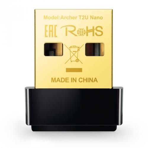 Wi-Fi adaptér TP-Link Archer T2U Nano černý