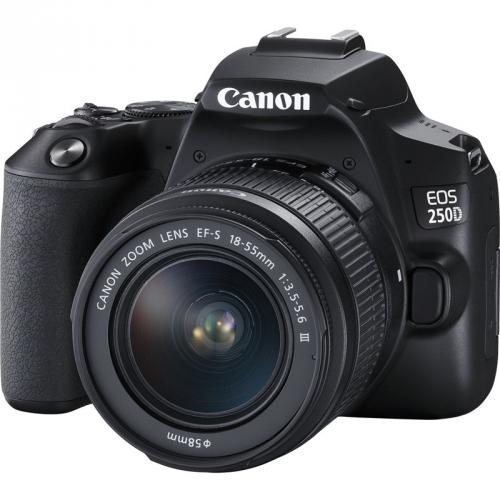 Digitální fotoaparát Canon EOS 250D + 18-55 DC III černý
