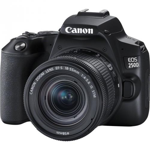 Digitální fotoaparát Canon EOS 250D + 18-55 IS STM černý