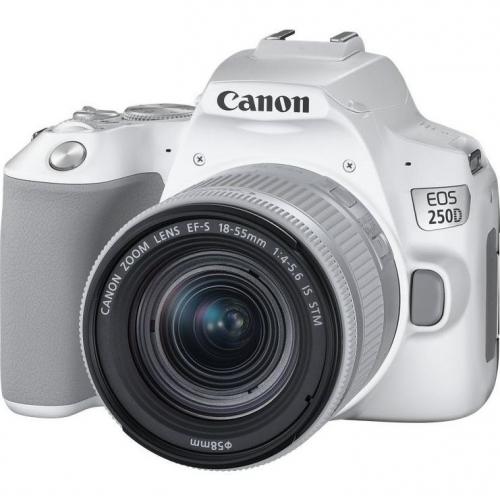 Digitální fotoaparát Canon EOS 250D + 18-55 IS STM bílý + dárek