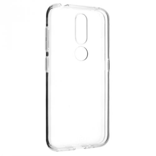 Kryt na mobil FIXED na Nokia 4.2 průhledný