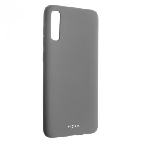 Kryt na mobil FIXED Story pro Samsung Galaxy A70 šedý