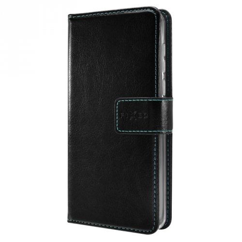 Pouzdro na mobil flipové FIXED Opus pro Samsung Galaxy A40 černé