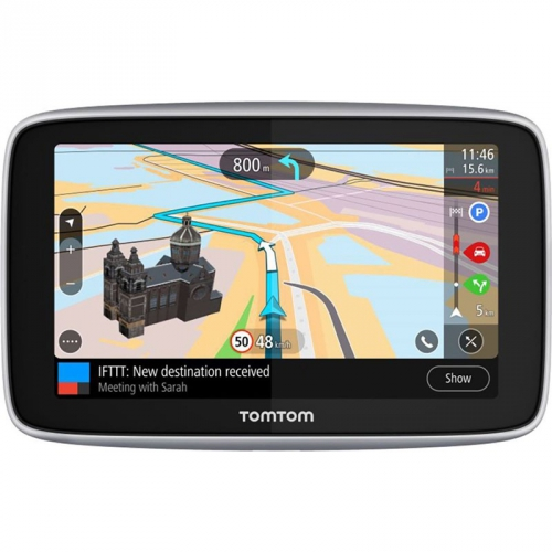 Navigační systém GPS Tomtom GO PREMIUM 6 World Lifetime černá
