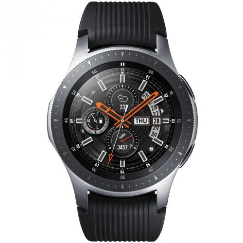Chytré hodinky Samsung Galaxy Watch 46mm LTE stříbrné