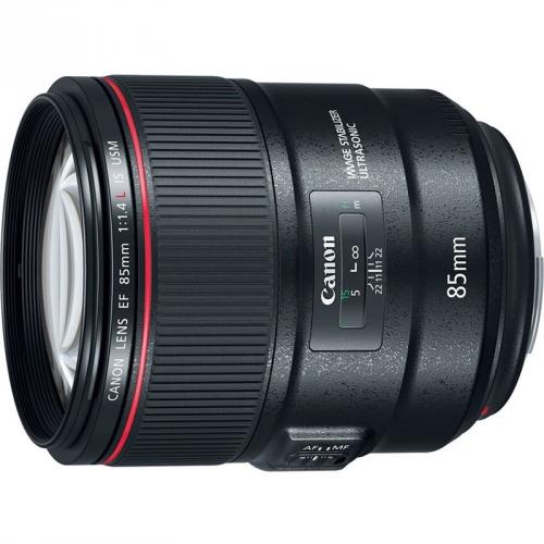 Objektiv Canon EF 85 mm f/1.4 L IS USM - SELEKCE AIP1 černý + DOPRAVA ZDARMA