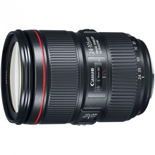 Objektiv Canon EF 24-105 mm f/4 L IS II USM - SELEKCE SIP černý