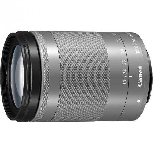 Objektiv Canon EF-M 18-150 mm f/3.5-6.3 IS STM - SELEKCE SIP stříbrný