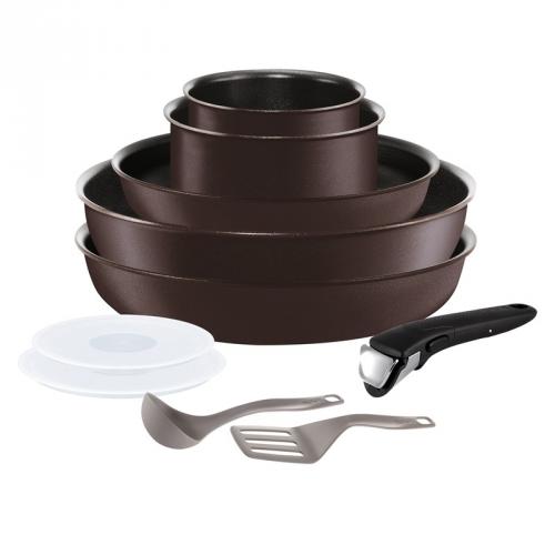 Sada hrnců Tefal Ingenio Chef L6559802 hnědá + DOPRAVA ZDARMA Tefal