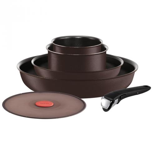 Sada hrnců Tefal Ingenio Chef L6559902 hnědá + DOPRAVA ZDARMA Tefal