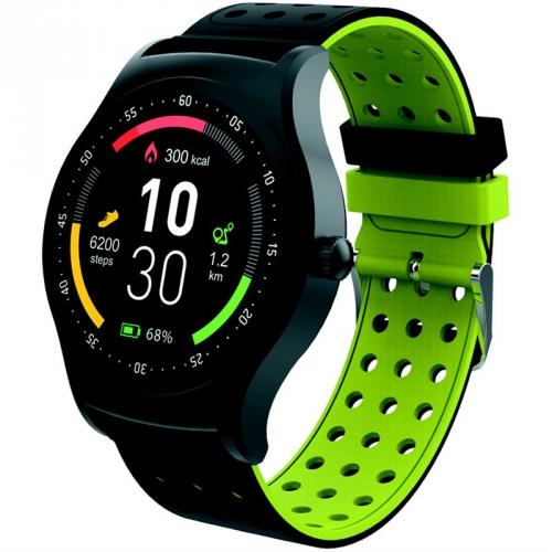 Chytré hodinky Denver SW-450 černý/zelený
