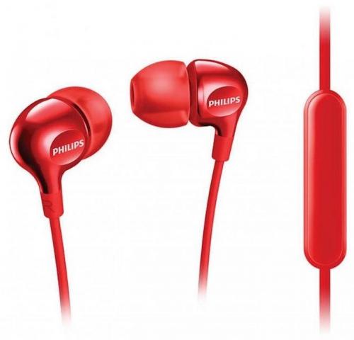 Sluchátka Philips SHE3555 (SHE3555RD/00) červená