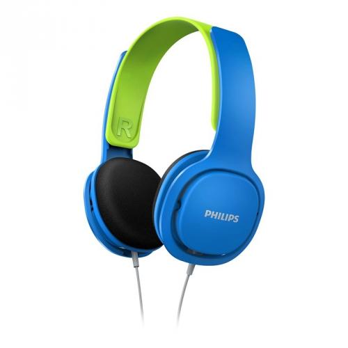 Sluchátka Philips SHK2000 (SHK2000BL/00) modrá/zelená