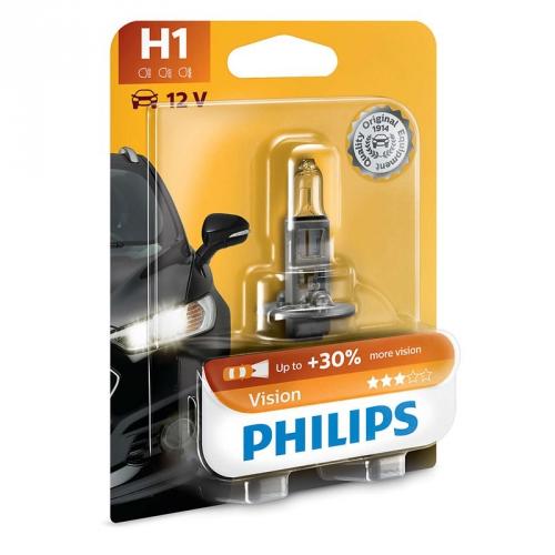 Autožárovka Philips Vision H1, 1 ks