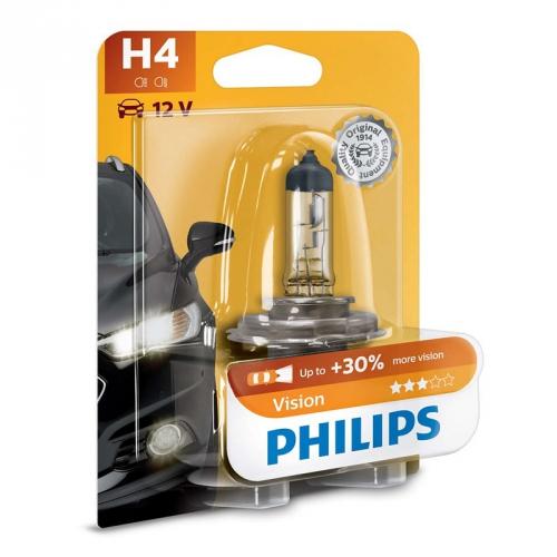 Autožárovka Philips Vision H4, 1ks (12342PRB1)