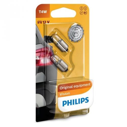 Autožárovka Philips Vision T4W, 2ks (12929B2)