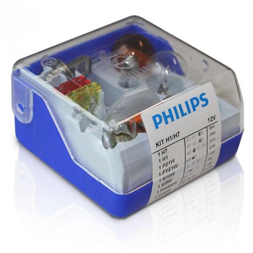 Philips náhradních autožárovek H1/H7