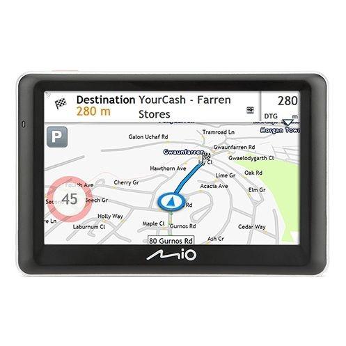 Navigační systém GPS Mio Spirit 7700 Truck/Karavan Full Europe Lifetime černá/šedá