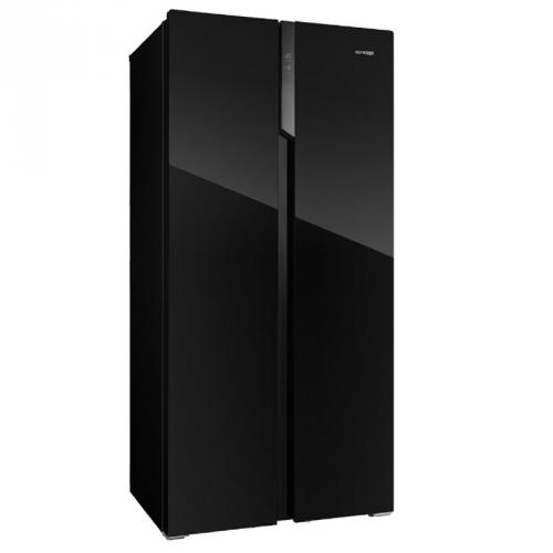 Americká lednice Concept LA7383bc černá