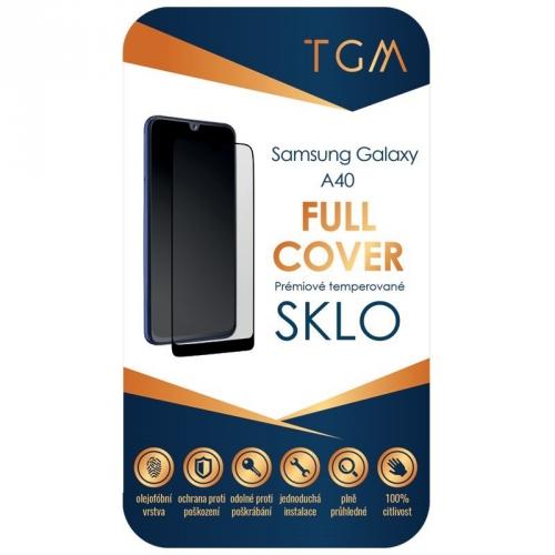 Ochranné sklo TGM Full Cover na Samsung Galaxy A40