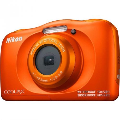 Digitální fotoaparát Nikon Coolpix W150 BACKPACK KIT oranžový