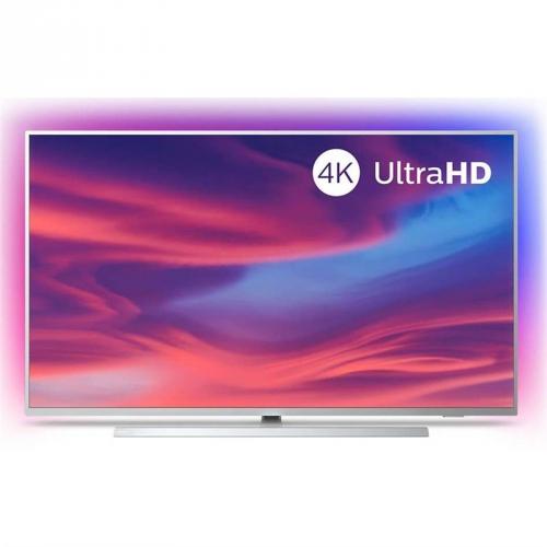 Televize Philips 43PUS7304 stříbrná + DOPRAVA ZDARMA