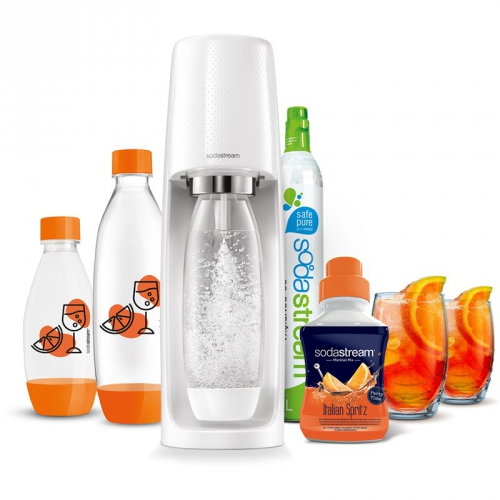 Výrobník sodové vody SodaStream Spirit White ITALIAN SPRITZ bílý