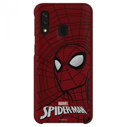 Kryt na mobil Samsung Smart Cover Spider-Man pro Galaxy A40 červený
