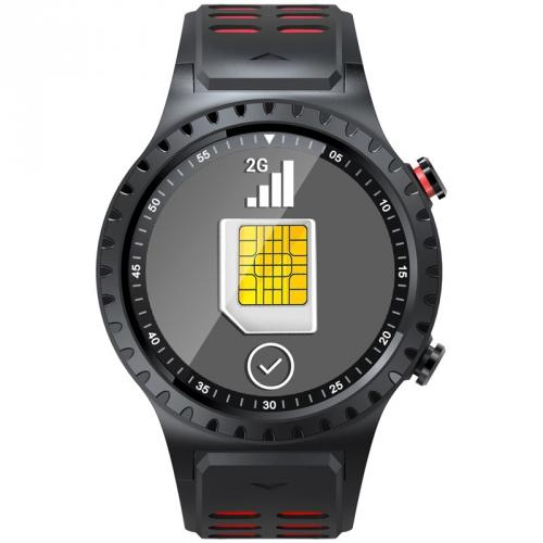 Chytré hodinky Evolveo SportWatch M1S červený