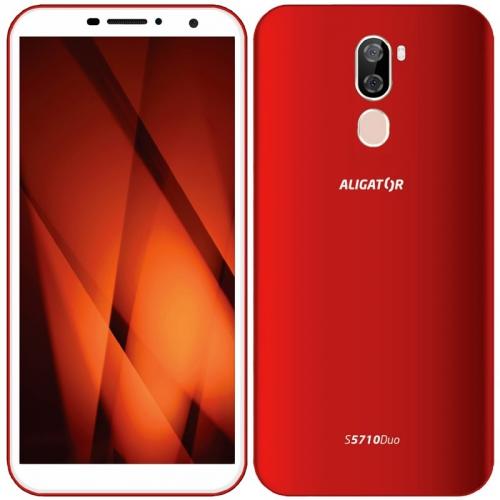 Mobilní telefon Aligator S5710 červený
