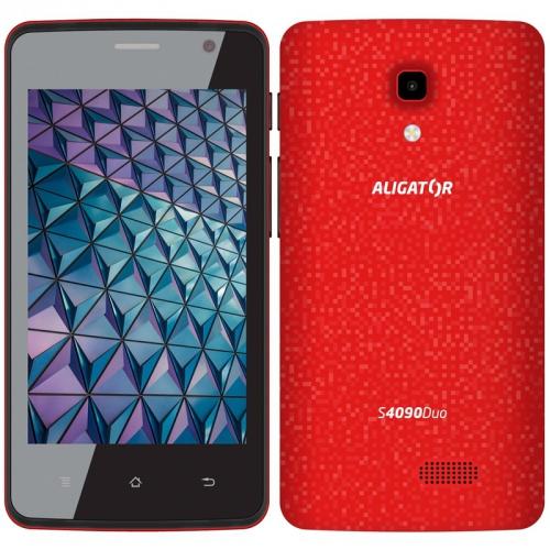 Mobilní telefon Aligator S4090 červený