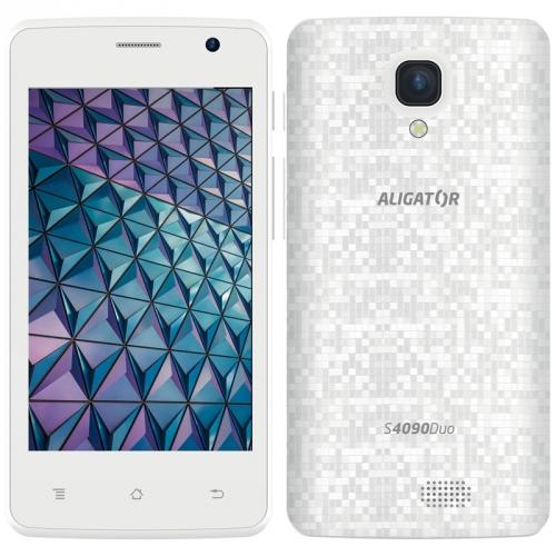 Mobilní telefon Aligator S4090 bílý