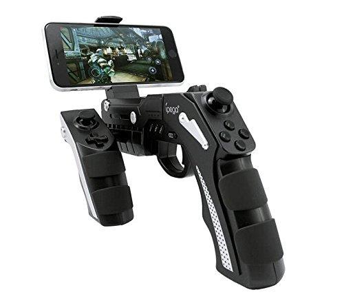 Gamepad iPega Phantom ShoX Blaster Gun, iOS/Android, BT černý