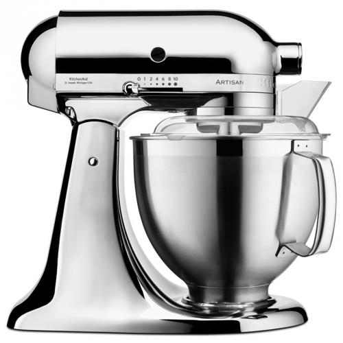 Kuchyňský robot KitchenAid Artisan 5KSM185PSECR chrom