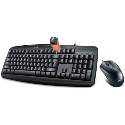 Klávesnice s myší Genius Smart KM-200, CZ/SK černá
