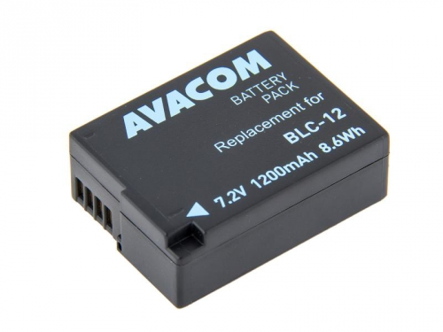 Baterie Avacom Panasonic DMW-BLC12 Li-Ion 7.4V 1200mAh 8.6Wh